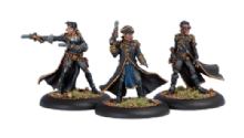 Cygnar Black 13th Gun Mage Strike Team (3)
